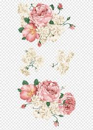 White And Red Rose Flower Wall Decal Flowers Flower Arranging Sticker Png Pngegg
