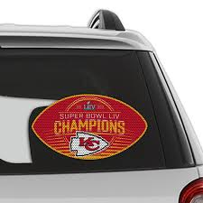 Fremont Die Nfl Kansas City Chiefs Super Bowl Liv Champion Film Window Decal Wayfair