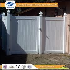 plastic privacy clear garden gates