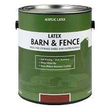 Valspar Barn Fence Flat Red Exterior Paint 1 Gallon In The Exterior Paint Department At Lowes Com