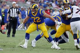 Los Angeles Rams center Aaron Neary 72 Foto editorial en stock ...
