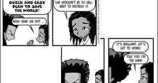 boondocks ic strip goes on hiatus