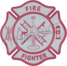 Firefighter Reflective Decal Fire Fighter Pink Maltese Cross Car Sticker T 79 For Sale Online