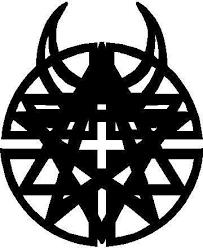 Disturbed Logo Decal Sticker