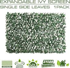 Expandable Faux Ivy Willow Privacy Fence 36 X 72 Optimal Position