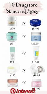10 skincare dupes for the most por
