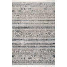 union rustic wasser blue tan area rug