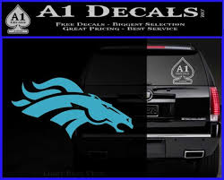 Denver Broncos D1 Decal Sticker A1 Decals