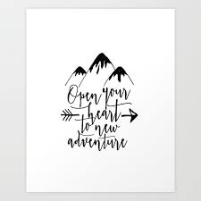 Kids Room Decor Home Decal Nursery Art Mountains Calling Kids Poster Nursery Poster Nursery Art Art Print By Typohouseart Society6