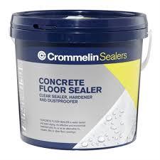 crommelin 4l concrete floor sealer
