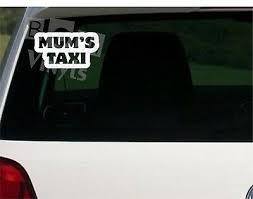 Funny Novelty Car Grandad S Taxi Van Vinyl Sticker Decal Car Emblems Car Exterior Styling Badges Decals Emblems