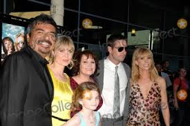Photos and Pictures - George Lopez, Radha Mitchell, Morgan Lily, Adriana  Barraza, Luke Wilson and Cheryl Hines during the premiere of the new movie  from Overture Films HENRY POOLE IS HERE, held