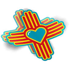 Amazon Com Ak Wall Art New Mexico Sun State Symbol Vinyl Sticker Car Phone Helmet Select Size Automotive