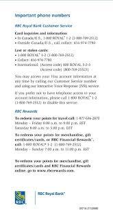 benefits of your new rbc rewards visa