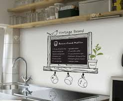 Modern Romance Kitchen Chalkboard Decal Blackboard Removable Waterproof Vinyl Wall Art Sticker Kitchen Wall Decor Sticker Ipad Stickers Cakesticker Diecut Aliexpress