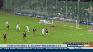 SALERNITANA - Brescia 3-0 RIGORE PARATO BERNI 3-0 - YouTube