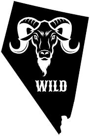 Amazon Com Jb Print Nevada Wild Rams Head Vinyl Decal Sticker Car Waterproof Car Decal Bumper Sticker 5 Kitchen Dining
