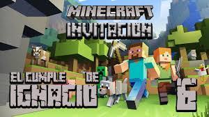 Minecraft Video Invitacion El Camaleon De Las Voces Youtube