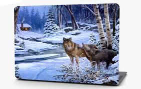 Wolves Landscape Vinyl Laptop Computer Skin Sticker Decal Wrap Macbook Roe Graphics And Apparel