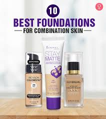 foundations for combination skin
