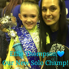 Effie Thompson – Our New Solo Championship Dancer This little ...