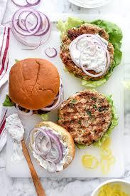 greek turkey burgers tzatziki sauce