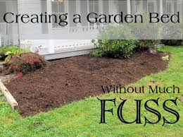 garden beds without too much fuss