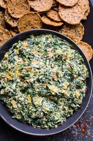 healthy spinach dip video ifoodreal