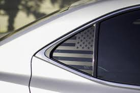 American Flag Quarter Window Decal 2014 2019 Lexus Is Premium Auto Styling
