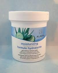 almay makeup remover pads oil free