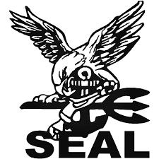 Patriot Navy Seal Decal Sticker