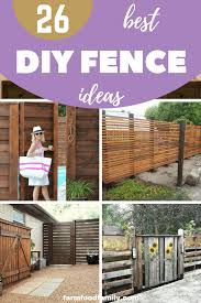 26 Affordable Diy Fence Ideas You Need To Try Diyfence Backyard Garden Privacy Farmfoodfamily Diy Fence Diy Backyard Diy Landscaping