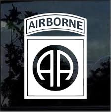 82nd Airborne Military Window Decal Stickers Custom Sticker Shop