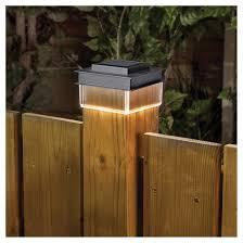 Paradise Solar Post Cap Light 1 Led Light Black Gl39064bk Rona
