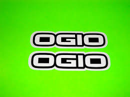 Ogio Motocross Skateboard Snowboard Bmx Quad Gear Bag Backpack Stickers Decals Ebay