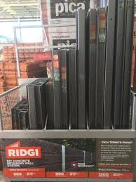 Bunnings Warehouse Gosford Now Carrying Stock Of The Ridgi Plus Powder Coated St Backyard Retaining Walls Landscaping Retaining Walls Building A Retaining Wall