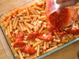 the key to great baked ziti drop the