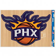 Phoenix Suns 11x17 Ultra Decal At Sticker Shoppe