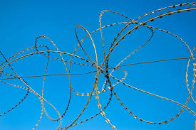 Barbed Wire Security Fence Sharp Concepts Metal Protection Razor Ideas Dom Pikist