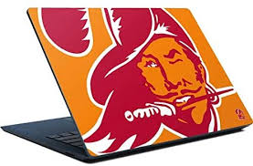 Amazon Com Skinit Decal Laptop Skin Compatible With Surface Laptop Officially Licensed Nfl Tampa Bay Buccaneers Retro Logo Design Electronics