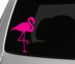 4 Pack Mini S Pink Flamingos Funny Small Decal Stickers For Tumblers Phones 0131 Car Truck Parts Car Truck Decals Emblems License Frames Moonnepal Com