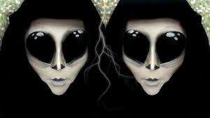 alien makeup tutorial xenomorph