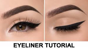 video tutorial how to do winged eyeliner