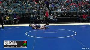 126 Round of 64 - Jacob Garrison, Meridian vs Aaron Pacheco, Chaparral