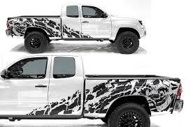 Toyota Tacoma 2005 2013 Rear Decal Torn Factory Crafts