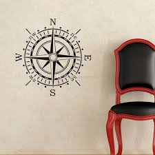 Nautical Compass Wall Stickers Home Decor Goods For Creativity Kids Bedroom Wall Decals Vinyl Art Sticker Wall Art Applique Wall Art Decal From Moderndecal 10 47 Dhgate Com