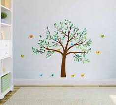 Tree Wall Decals Birds Wall Decals Tree Decals For Nursery Etsy
