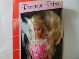 romantic petra Doll By plasty Petra New In Box west germany | eBay