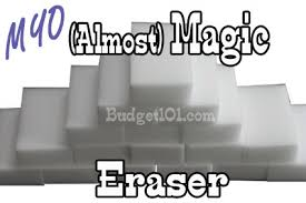 make your own magic eraser cleaning sponges