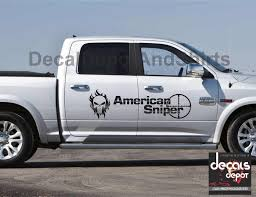 For 2pcs American Sniper Decal Sticker Vinyl Fits Chevy Silverado 1500 2500hd 3500hd Car Stickers Aliexpress